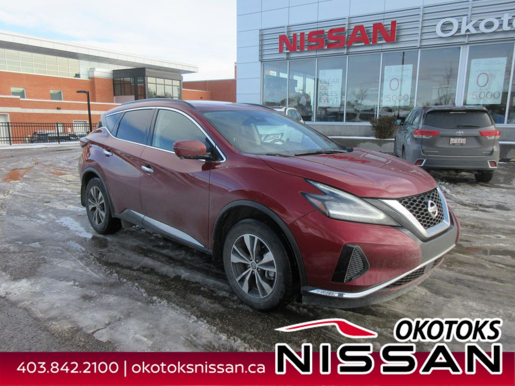 Red[Cayenne Red Metallic] 2020 Nissan Murano
