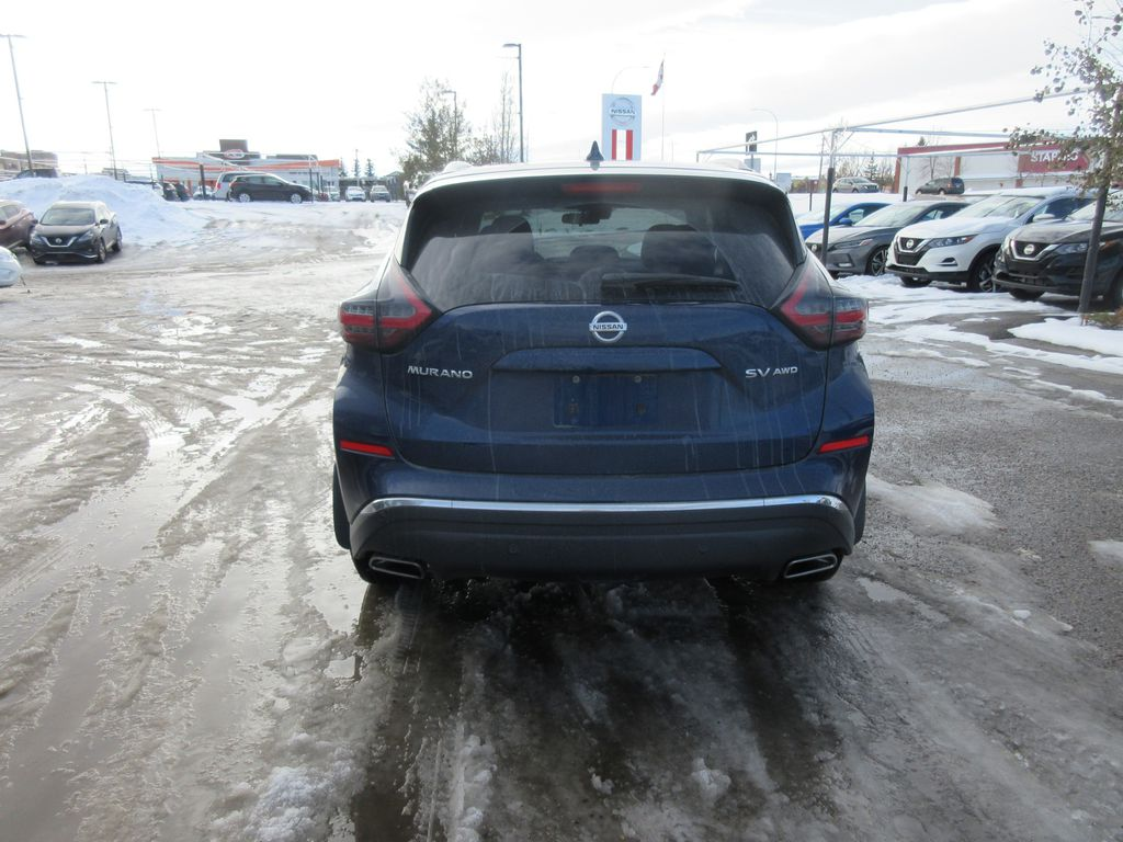 Blue[Deep Blue Pearl Metallic] 2020 Nissan Murano Odometer Photo in Okotoks AB