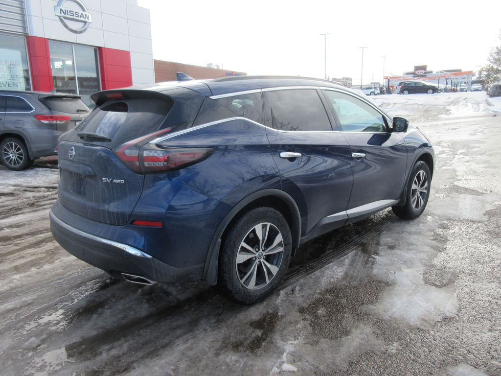 Blue[Deep Blue Pearl Metallic] 2020 Nissan Murano Trim Specific Photo in Okotoks AB