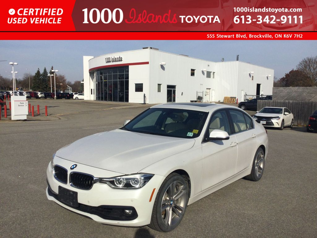 White[Alpine White] 2017 BMW 3 Series