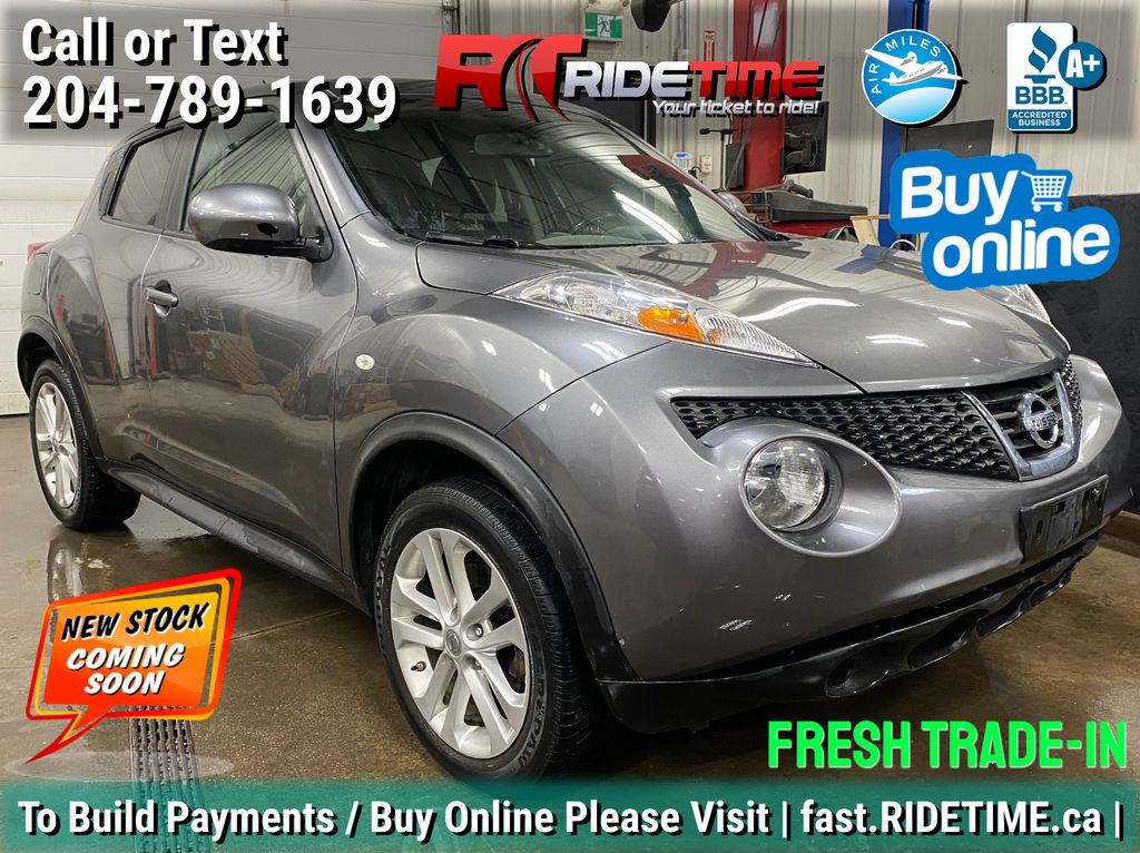 Gray[Gun Metallic] 2014 Nissan JUKE SV FWD - Manual Transmission, CHEAP SUV for SALE