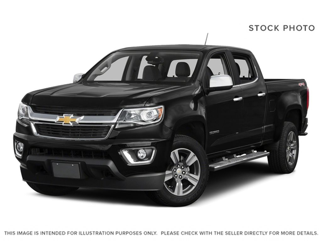 Black[Black] 2017 Chevrolet Colorado