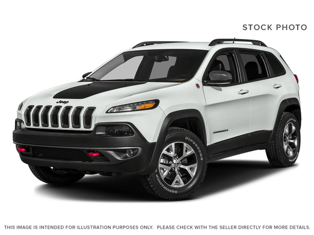 White[Bright White] 2017 Jeep Cherokee