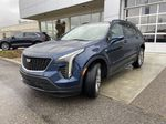 Blue[Twilight Blue Metallic] 2021 Cadillac XT4 Sport Left Front Head Light / Bumper and Grill in Calgary AB