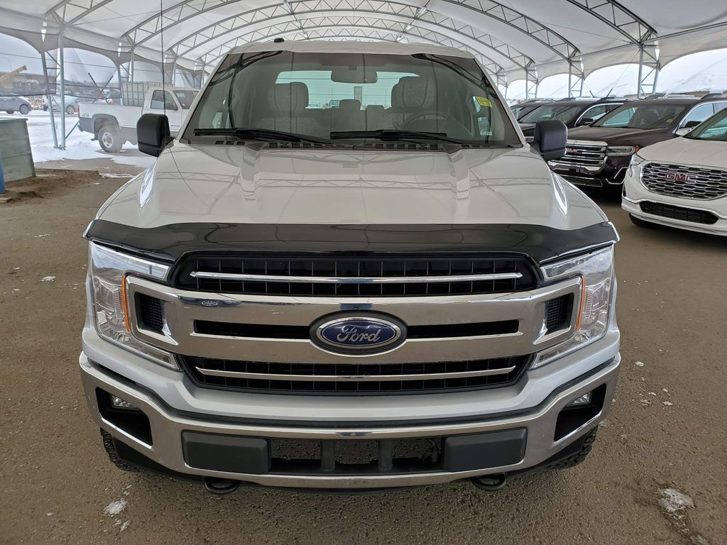 Silver 2018 Ford F-150 Left Front Corner Photo in Airdrie AB