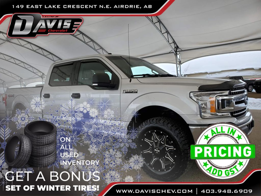 Silver 2018 Ford F-150