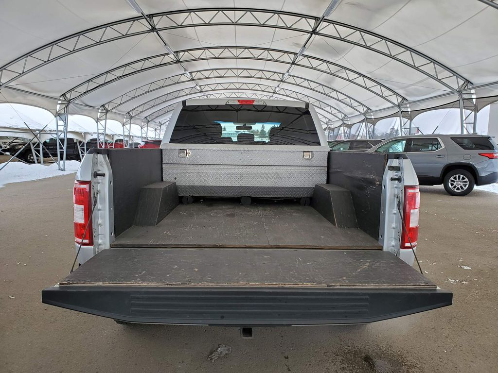 Silver 2018 Ford F-150 Right Rear Corner Photo in Airdrie AB