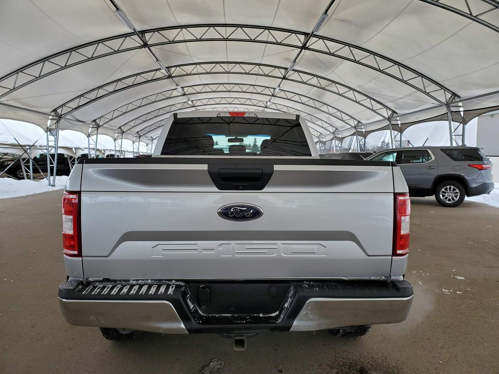 Silver 2018 Ford F-150 Trunk / Cargo Area Photo in Airdrie AB