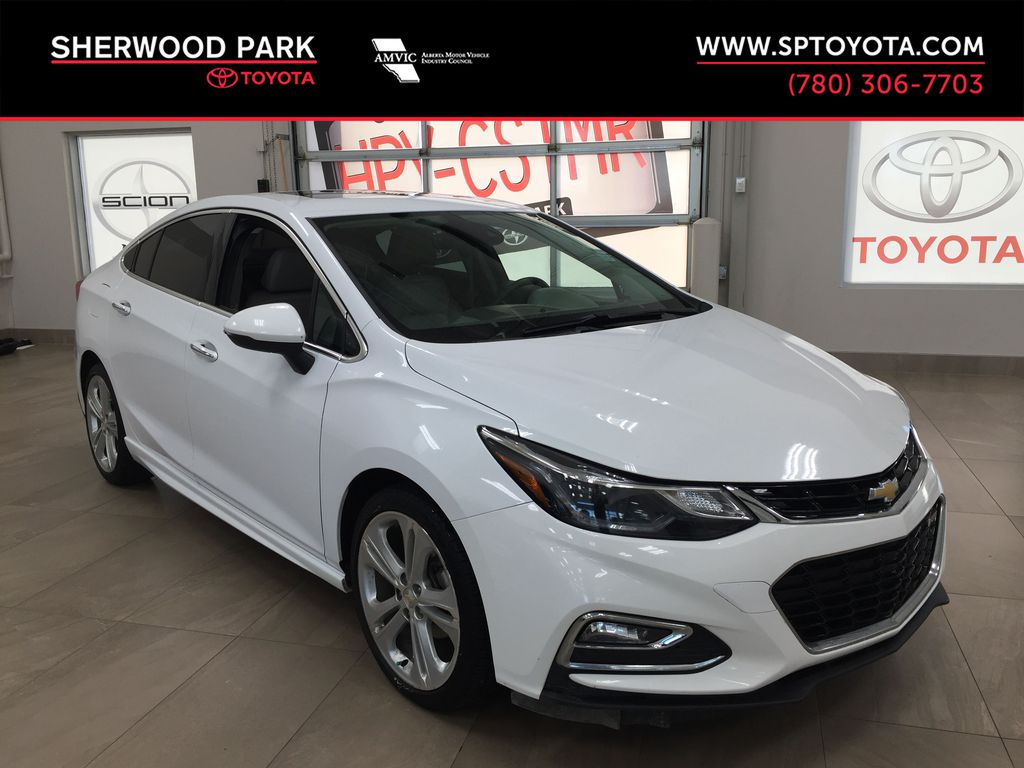 White[Summit White] 2016 Chevrolet Cruze Premier RS