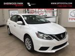 White[Aspen White Pearl] 2018 Nissan Sentra SV Primary Listing Photo in Sherwood Park AB