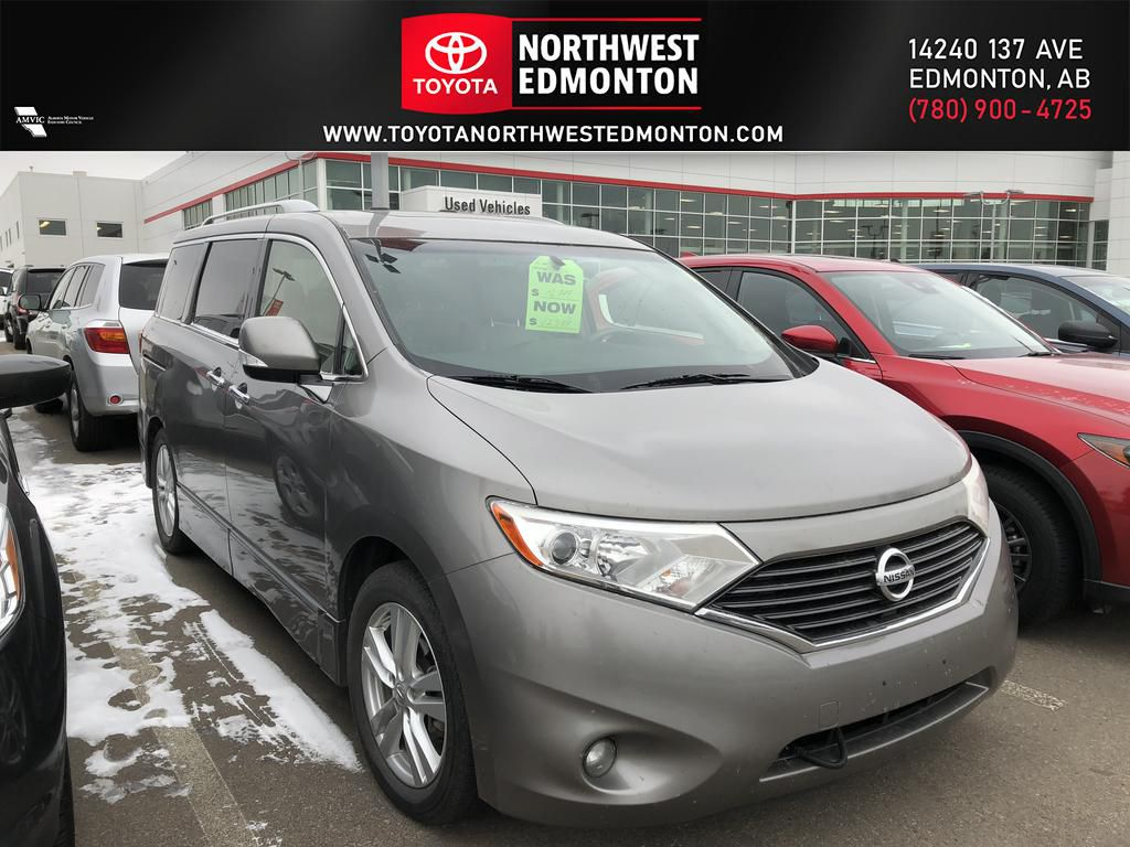 Platinum Graphite 2012 Nissan Quest LE