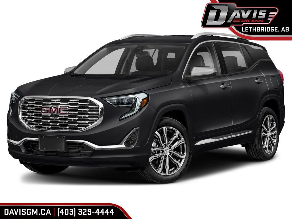 Black 2020 GMC Terrain