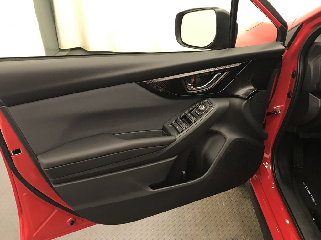 Red 2021 Subaru Crosstrek Left Rear Interior Door Panel Photo in Lethbridge AB