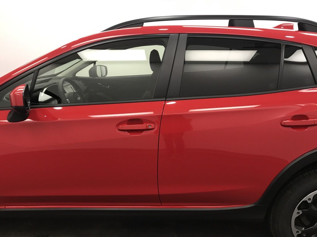 Red 2021 Subaru Crosstrek Front Vehicle Photo in Lethbridge AB