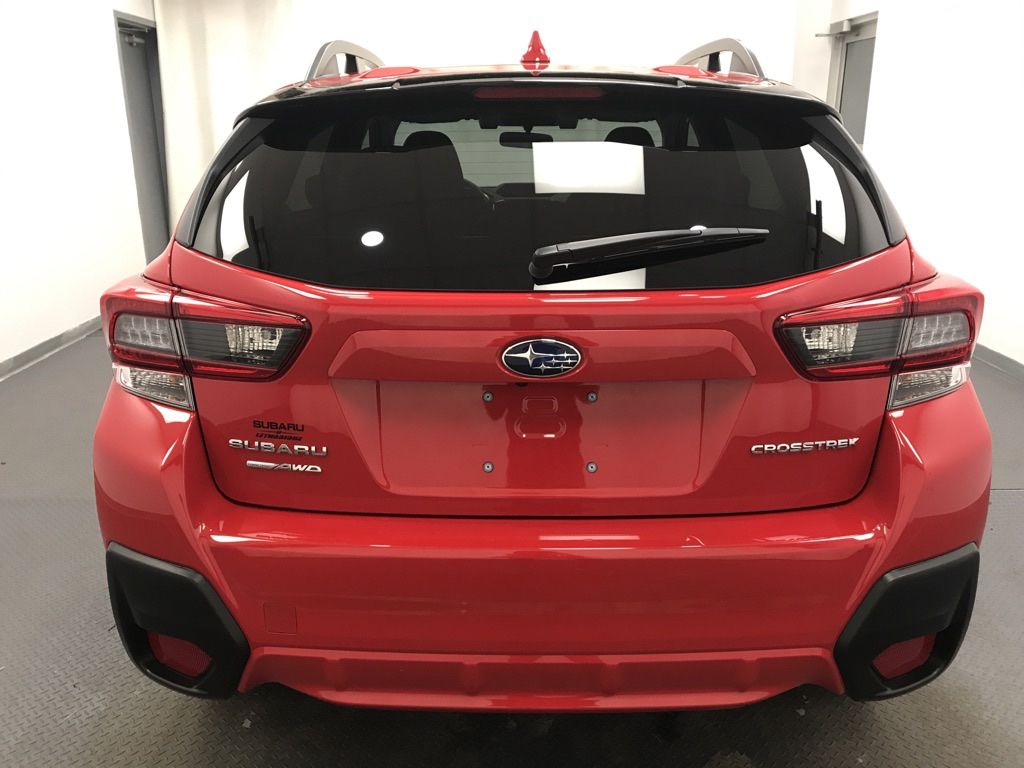 Red 2021 Subaru Crosstrek Left Front Interior Photo in Lethbridge AB