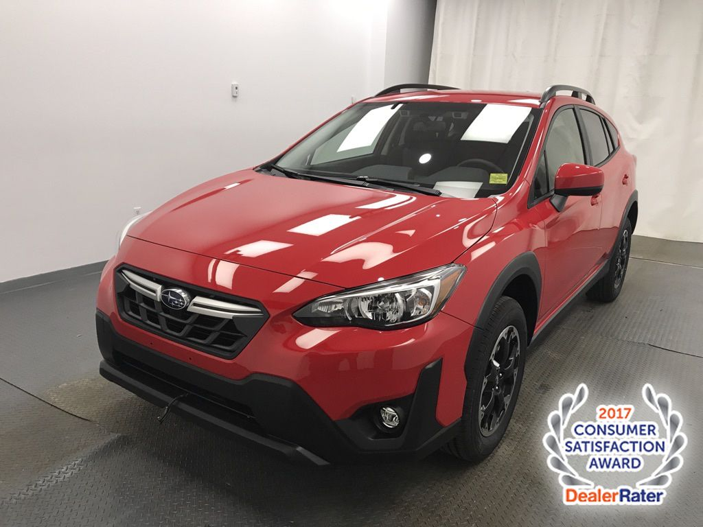 Red 2021 Subaru Crosstrek