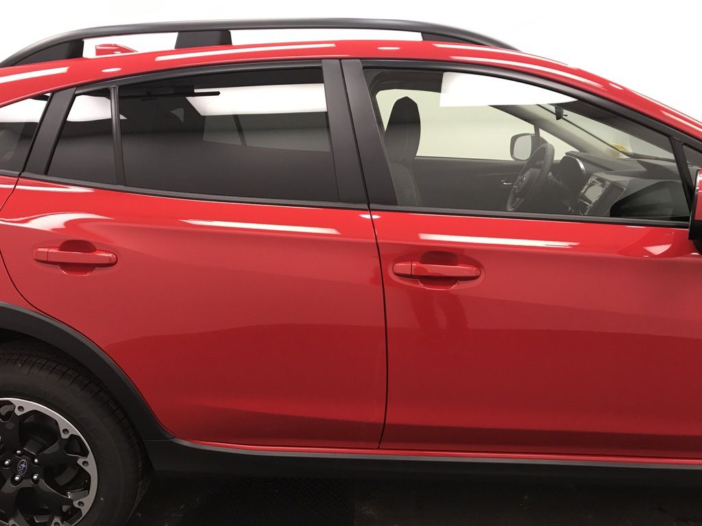 Red 2021 Subaru Crosstrek Left Front Interior Door Panel Photo in Lethbridge AB