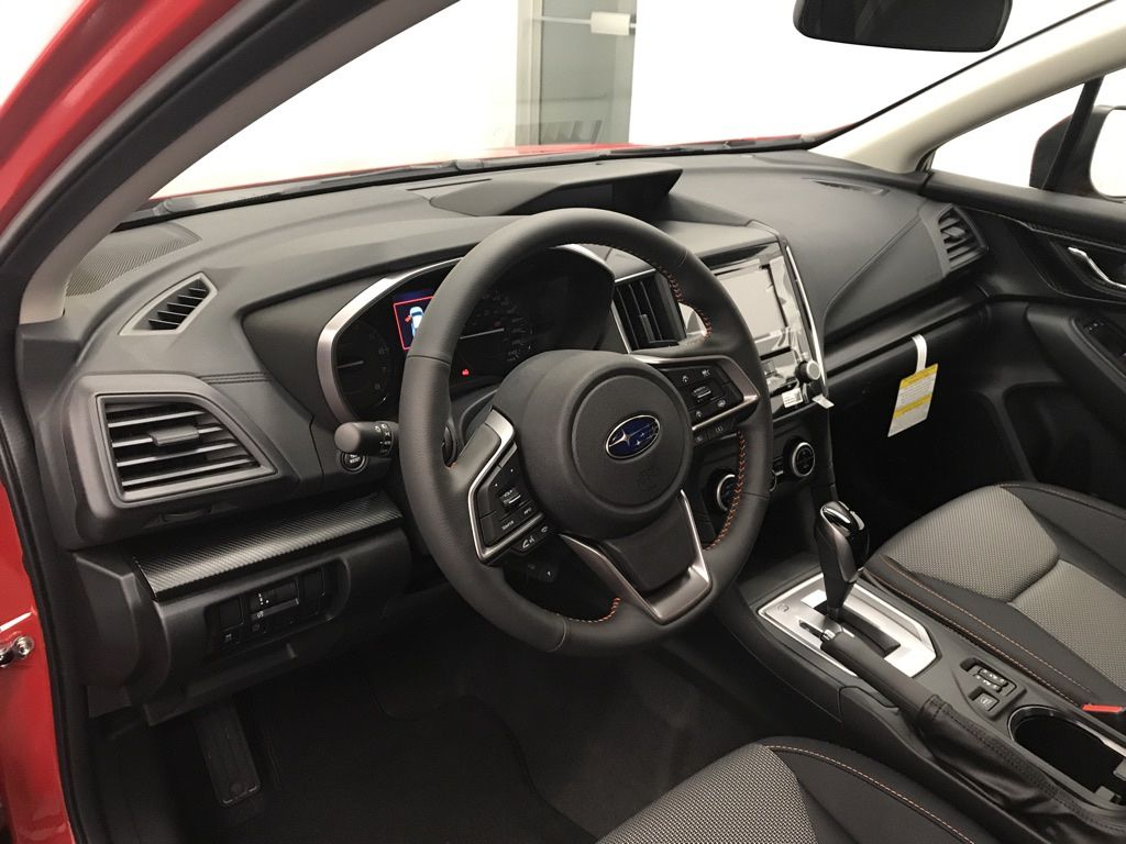 Red 2021 Subaru Crosstrek Left Side Rear Seat  Photo in Lethbridge AB