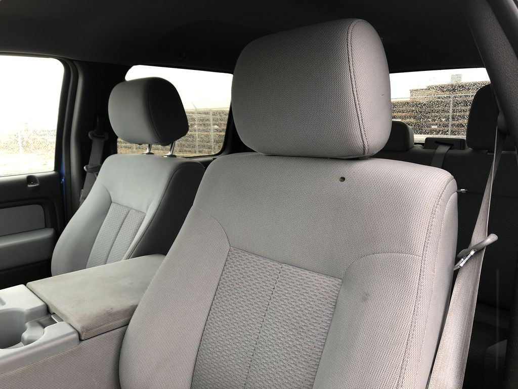 Blue[Blue Flame] 2014 Ford F-150 Left Front Interior Photo in Edmonton AB