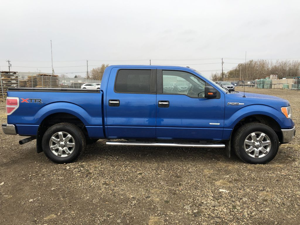 Blue[Blue Flame] 2014 Ford F-150 Right Side Photo in Edmonton AB