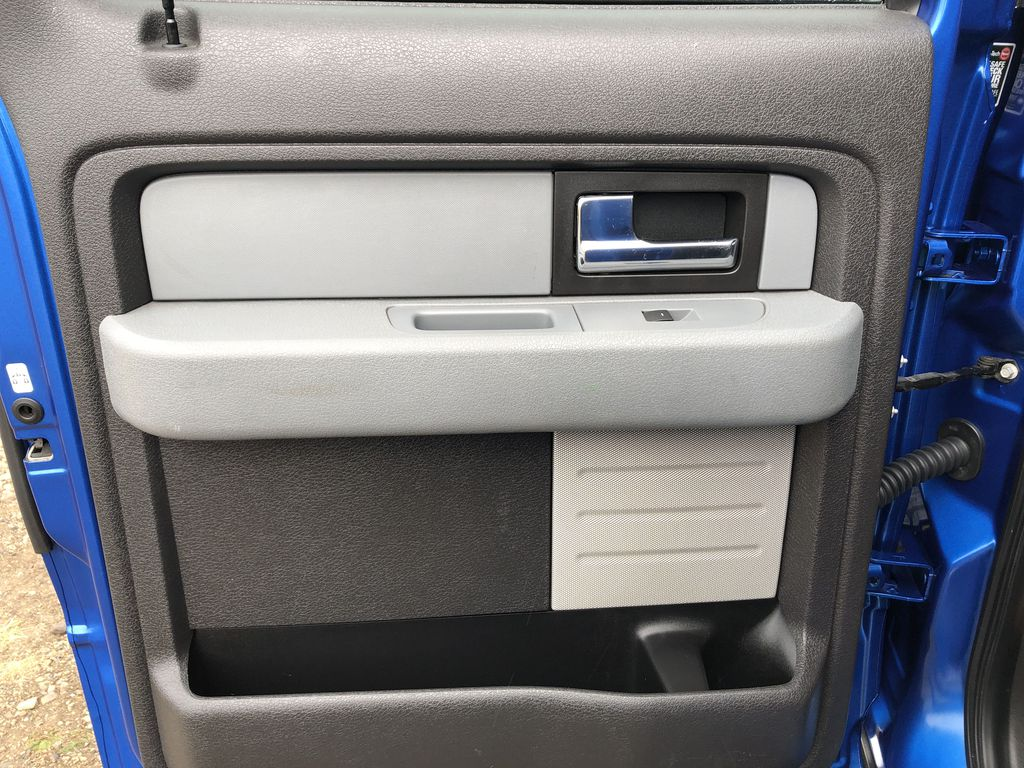 Blue[Blue Flame] 2014 Ford F-150 Left Rear Interior Door Panel Photo in Edmonton AB