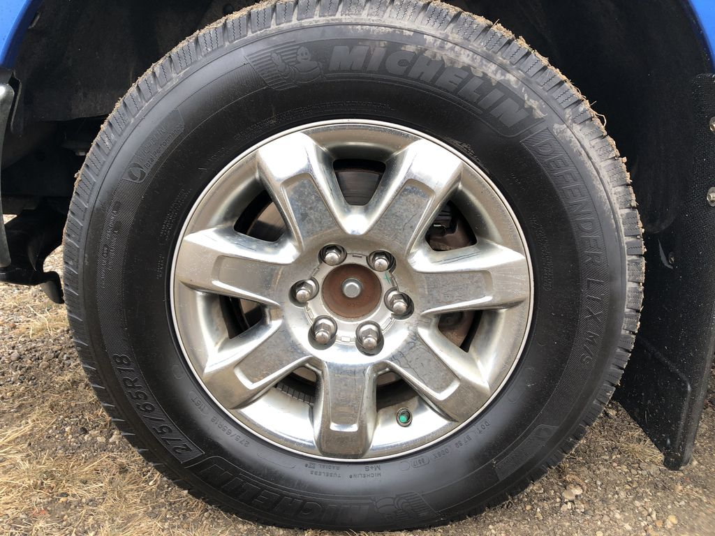 Blue[Blue Flame] 2014 Ford F-150 Left Front Rim and Tire Photo in Edmonton AB