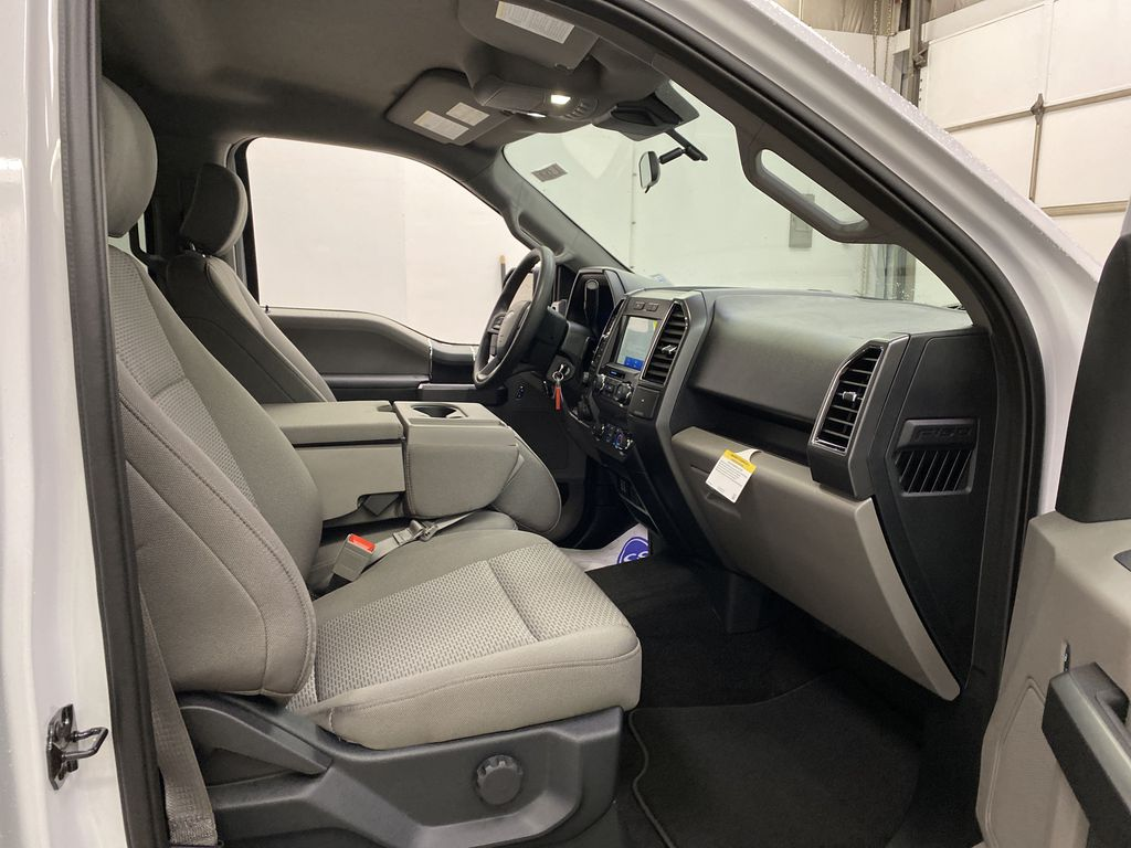 White[Oxford White] 2020 Ford F-150 Right Side Front Seat  Photo in Dartmouth NS