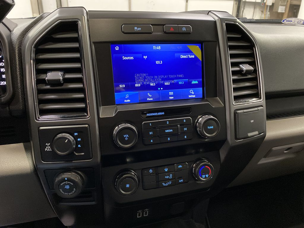 White[Oxford White] 2020 Ford F-150 Central Dash Options Photo in Dartmouth NS