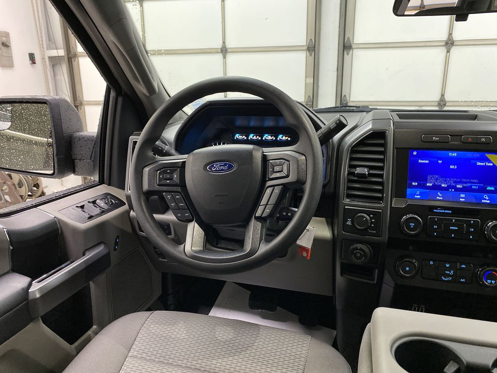 White[Oxford White] 2020 Ford F-150 Strng Wheel: Frm Rear in Dartmouth NS