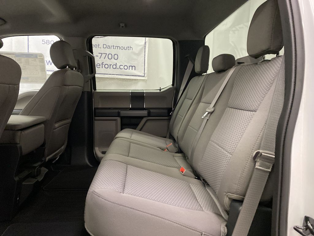 White[Oxford White] 2020 Ford F-150 Left Side Rear Seat  Photo in Dartmouth NS
