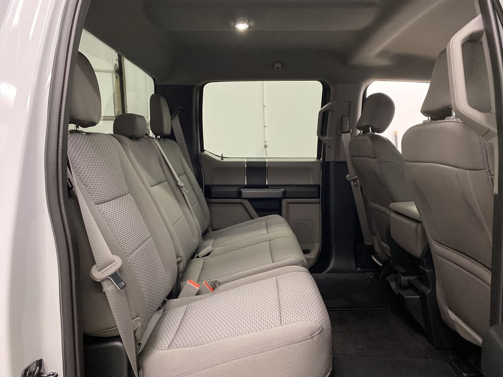 White[Oxford White] 2020 Ford F-150 Right Side Rear Seat  Photo in Dartmouth NS