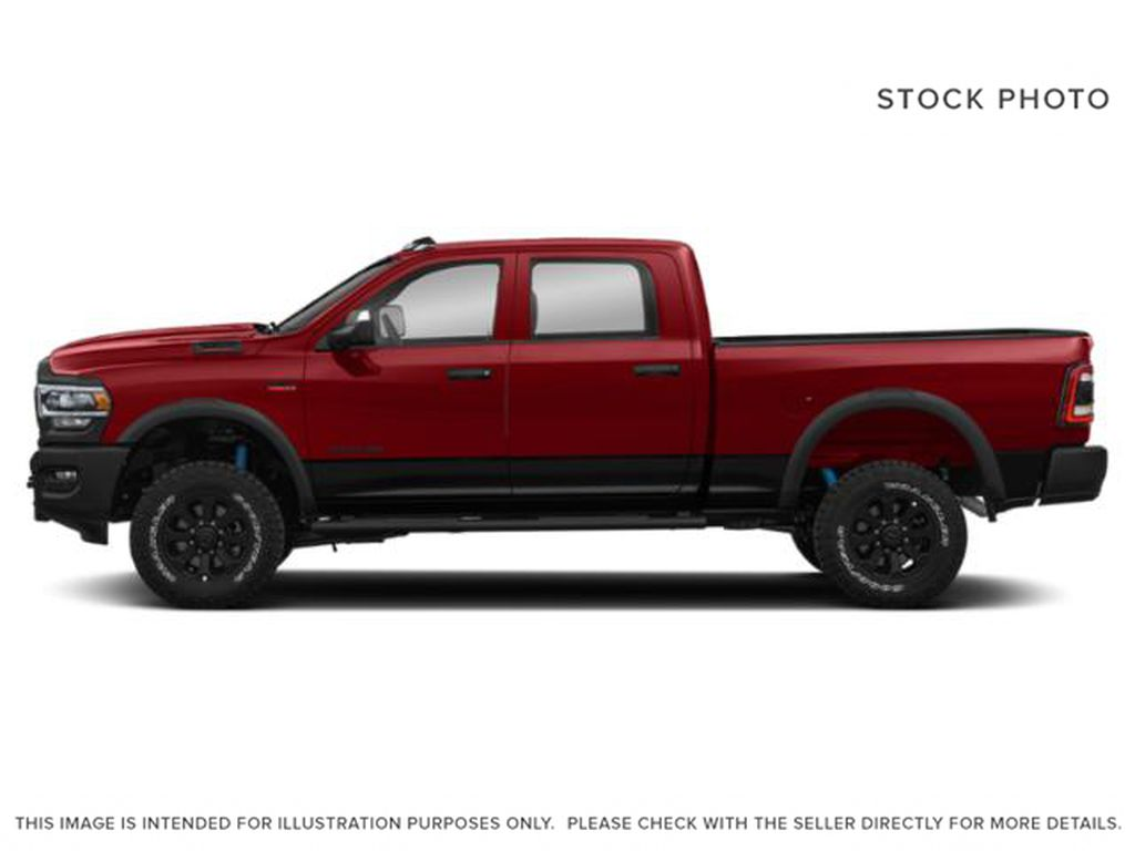 Red[Flame Red] 2020 Ram 2500 Left Side Photo in Cold Lake AB