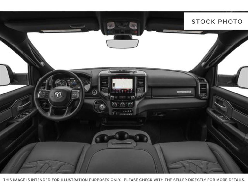 Red[Flame Red] 2020 Ram 2500 Central Dash Options Photo in Cold Lake AB