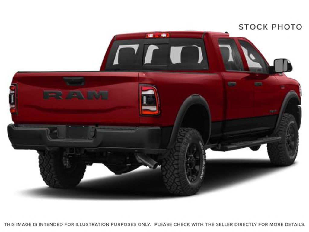 Red[Flame Red] 2020 Ram 2500 Right Rear Corner Photo in Cold Lake AB
