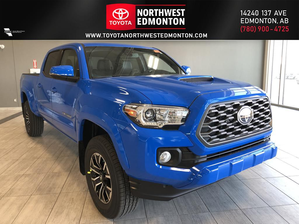 Voodoo Blue 2021 Toyota Tacoma Double Cab TRD Sport Premium