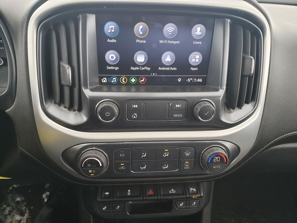 Blue 2019 GMC Canyon Left Front Interior Photo in Lethbridge AB