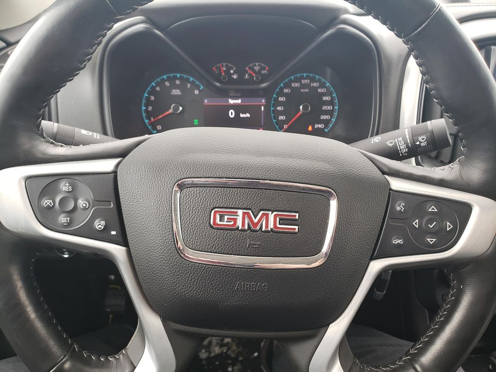 Blue 2019 GMC Canyon Driver's Side Door Controls Photo in Lethbridge AB