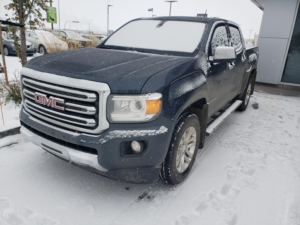 Blue 2019 GMC Canyon Left Front Rim and Tire Photo in Lethbridge AB