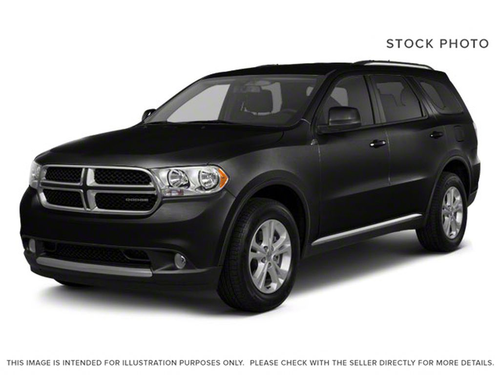 Black[Brilliant Black Crystal Pearl] 2012 Dodge Durango