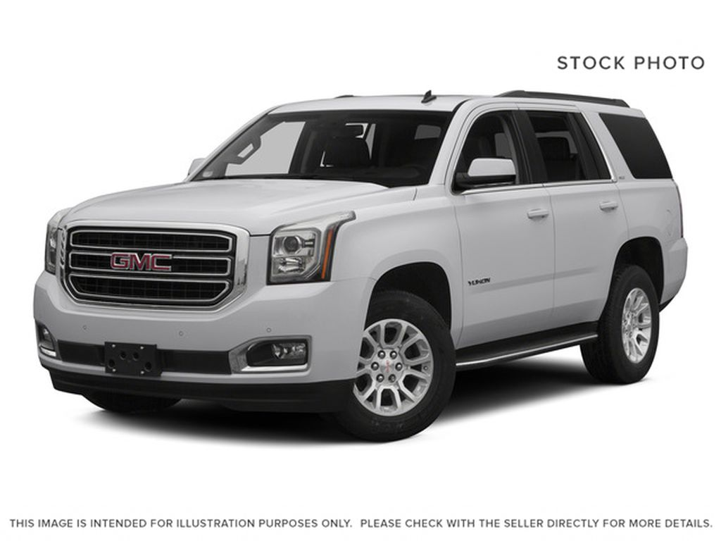 White[Summit White] 2015 GMC Yukon