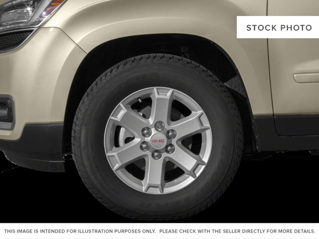Silver[Quicksilver Metallic] 2015 GMC Acadia Left Front Rim and Tire Photo in Fort Macleod AB