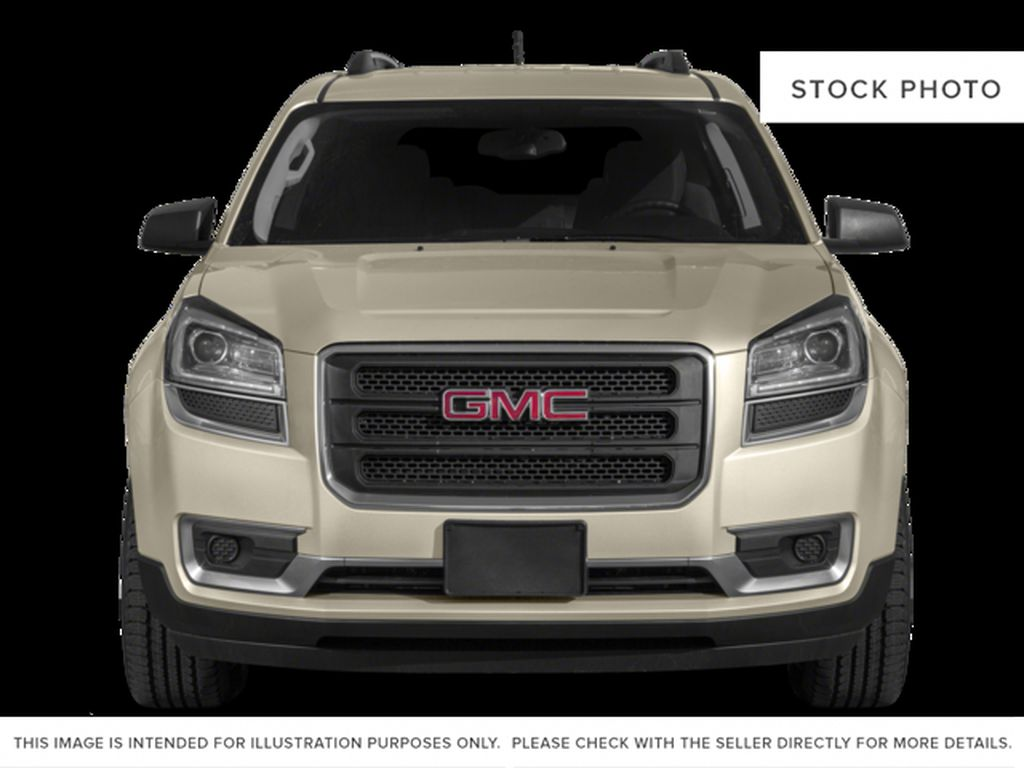 Silver[Quicksilver Metallic] 2015 GMC Acadia Front Vehicle Photo in Fort Macleod AB