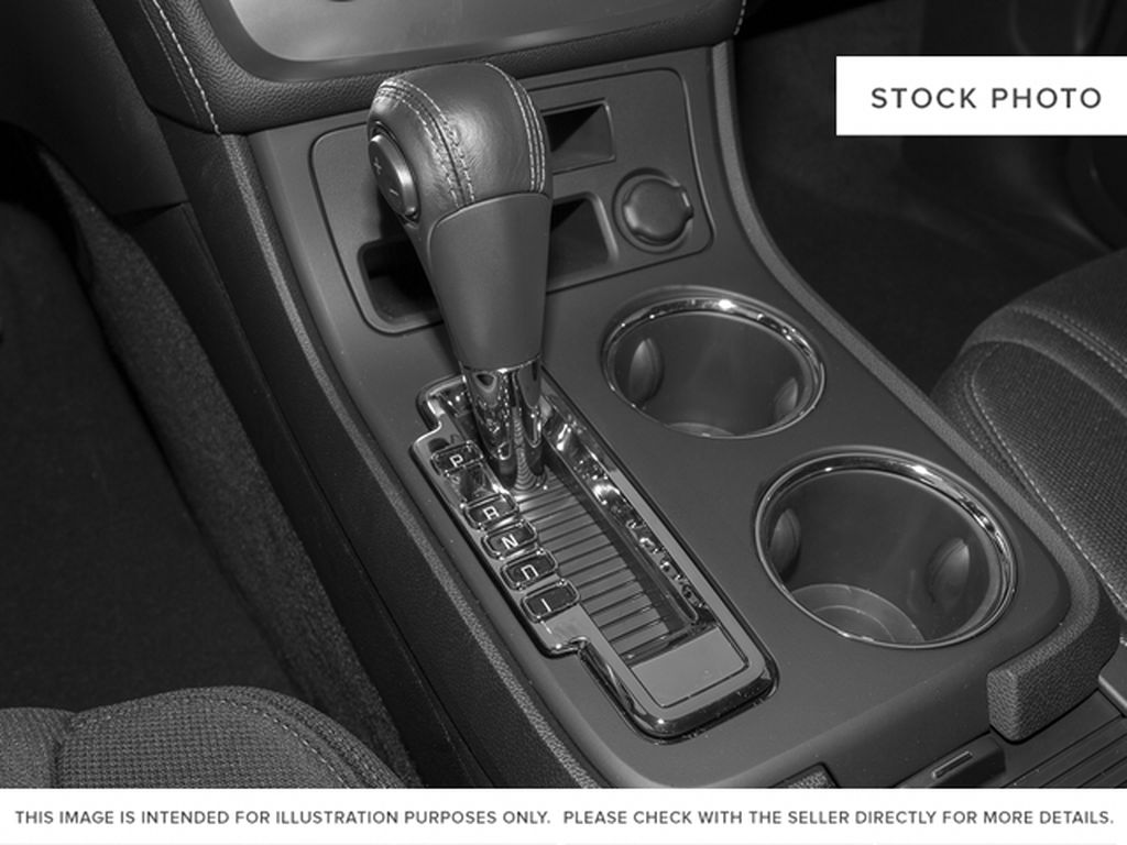 Silver[Quicksilver Metallic] 2015 GMC Acadia Center Console Photo in Fort Macleod AB