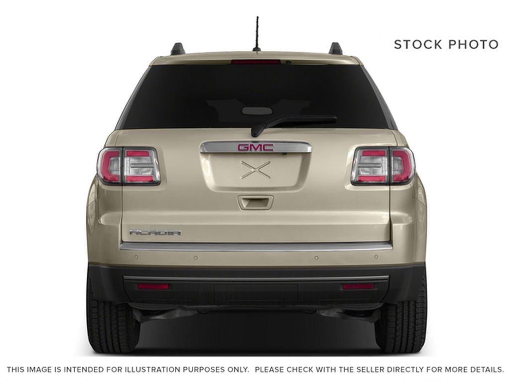 Silver[Quicksilver Metallic] 2015 GMC Acadia Rear of Vehicle Photo in Fort Macleod AB
