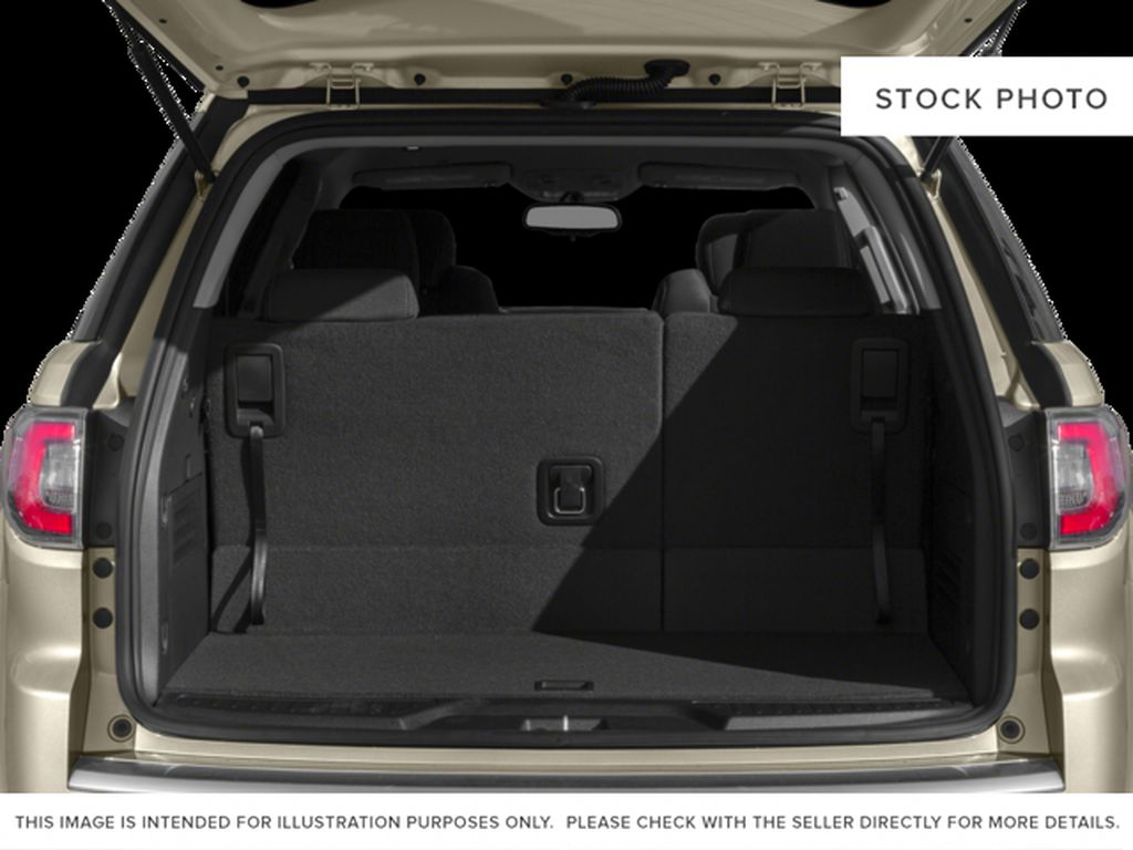 Silver[Quicksilver Metallic] 2015 GMC Acadia Trunk / Cargo Area Photo in Fort Macleod AB