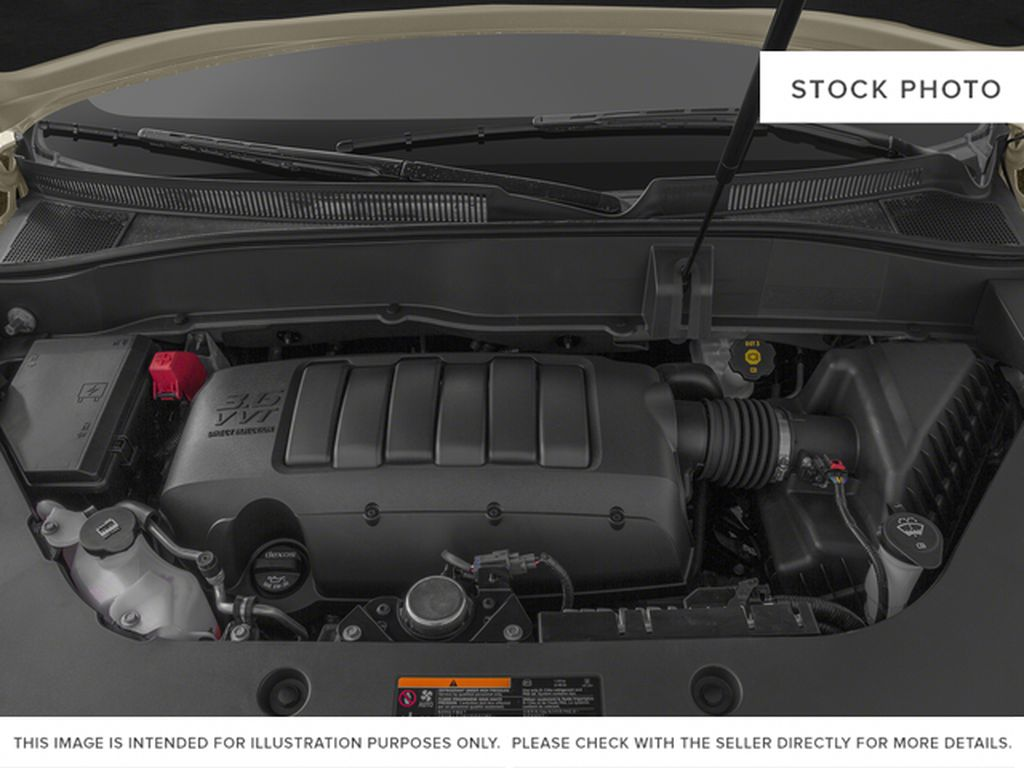 Silver[Quicksilver Metallic] 2015 GMC Acadia Engine Compartment Photo in Fort Macleod AB