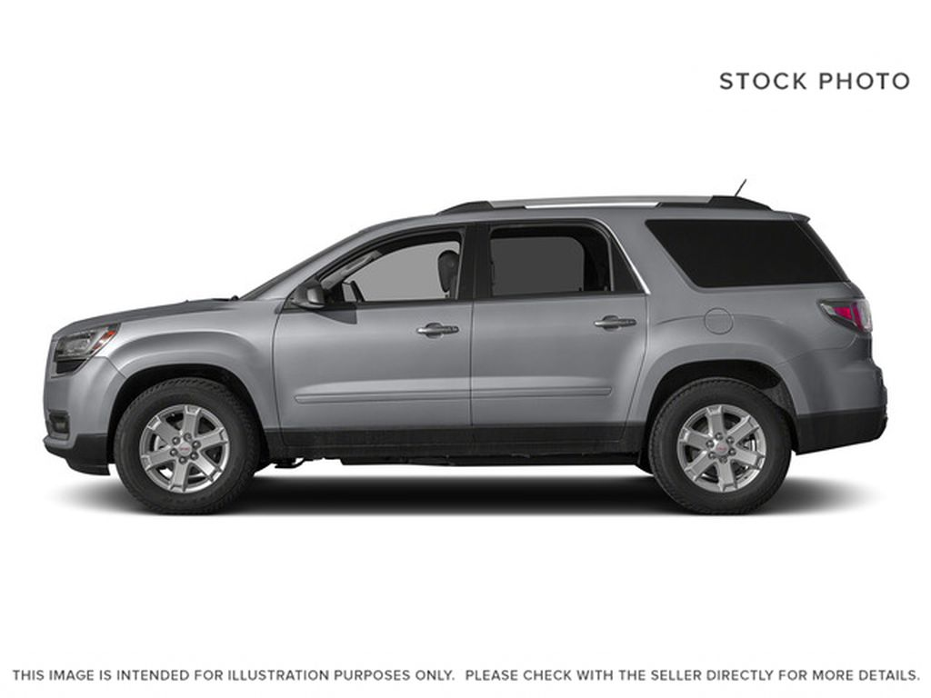 Silver[Quicksilver Metallic] 2015 GMC Acadia Left Side Photo in Fort Macleod AB