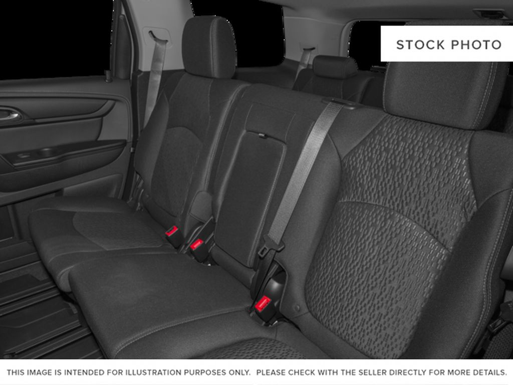 Silver[Quicksilver Metallic] 2015 GMC Acadia Left Side Rear Seat  Photo in Fort Macleod AB