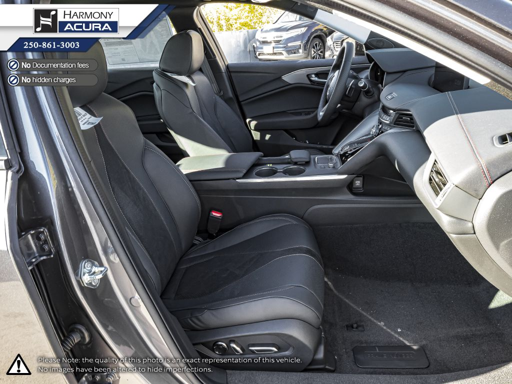 GREY_NH-797M 2021 Acura TLX Fourth Row  Seat  Photo in Kelowna BC