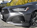 GREY_NH-797M 2021 Acura TLX Left Side Rear Seat  Photo in Kelowna BC